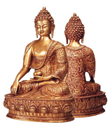 Buddha Akshobhya, 33 cm
