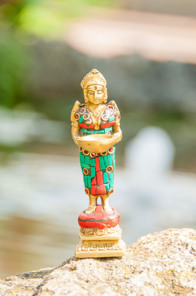 Lakshmi, stehend, 10,5 cm