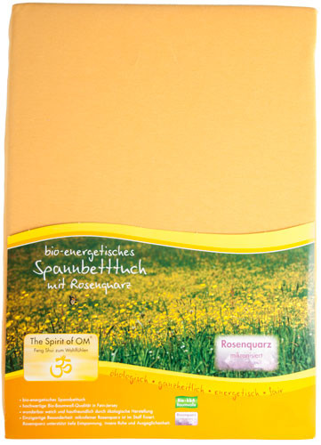 Spannbetttuch mangogelb 180-200x200 cm