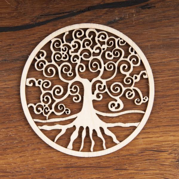 Yggdrasil aus Holz 8 cm