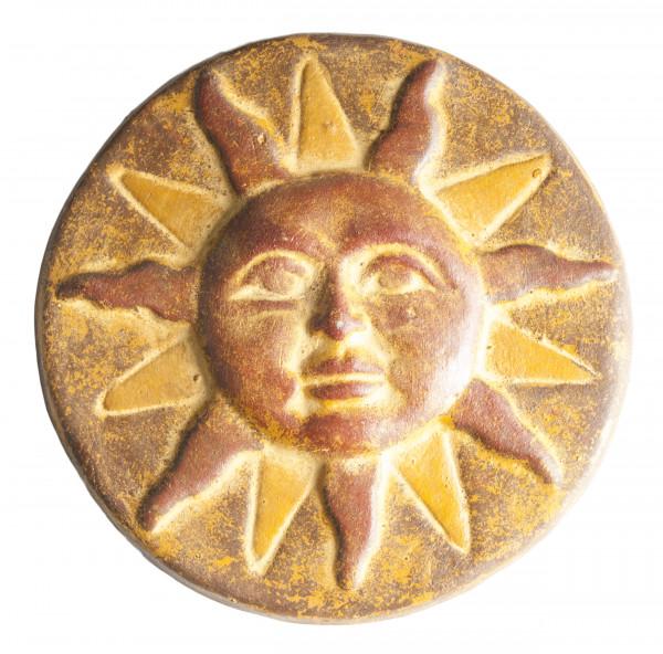 Sonne aus Keramik