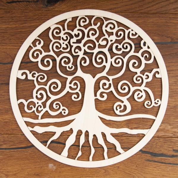 Yggdrasil aus Holz 24 cm