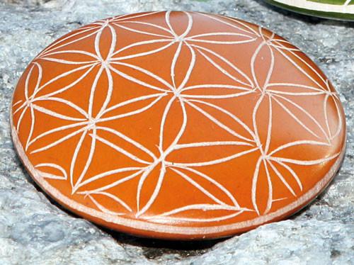Handschmeichler Lebensblume, orange