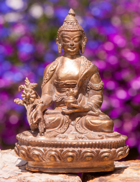 Medizin Buddha, 10 cm