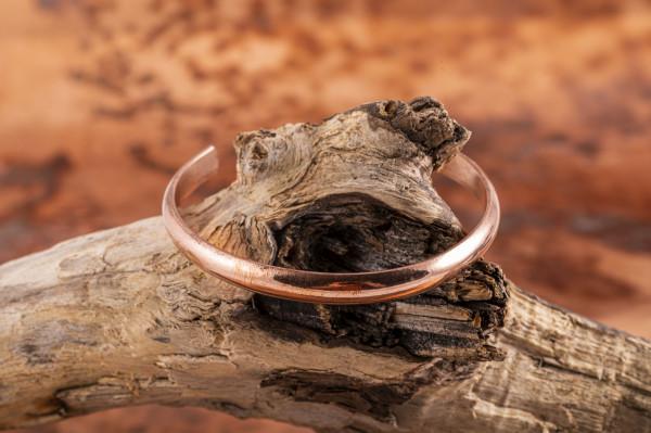 Kupfer-Armreif, schlicht