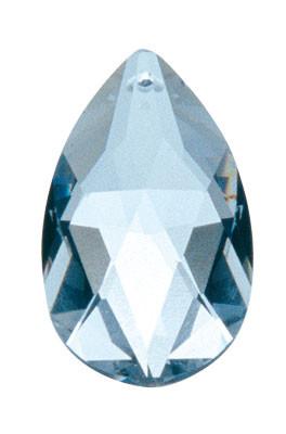 Kristall bleifrei, Tropfen 38 mm