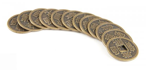 Chinesische Glücksmünzen*AUSVERKAUFT*