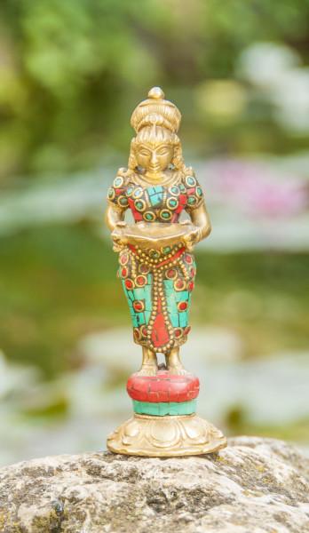 Lakshmi, stehend, 14 cm